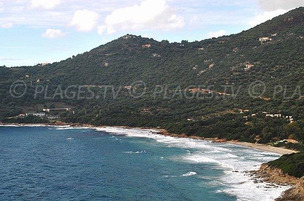 Photo of Menasina beach in Cargèse (Corsica)