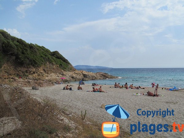 Rocks of Menasina beach - Cargèse