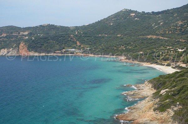 Photo of Menasina beach in Cargèse