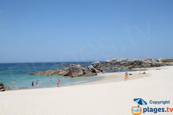 Grande crique de sable de C'hi Du - Kerlouan
