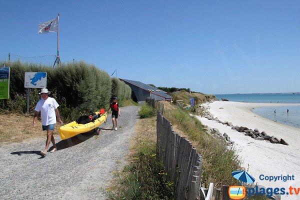 Kayak de mer à Plounéour-Trez