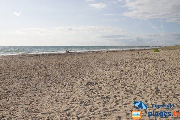 Photo of Mentor beach in Plouharnel - North of Quiberon