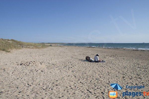 Photo de la plage du Mentor à Plouharnel - Quiberon