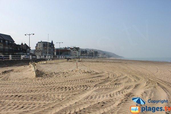 Beach near the Casino - Villers sur Mer - Normandy