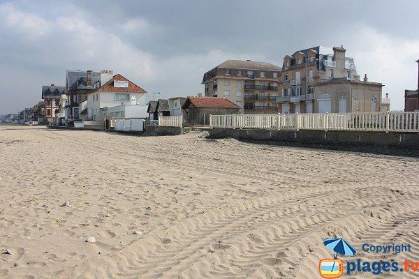 Jean Mermoz beach- close meridian of Greenwich - Villers sur Mer