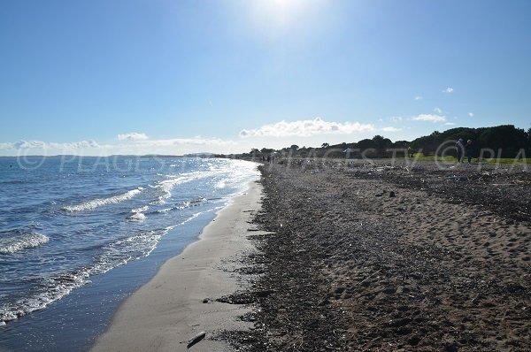 Mérou beach towards Ayguade beach - Hyeres