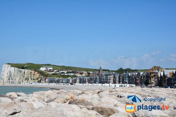 Mers les Bains in France