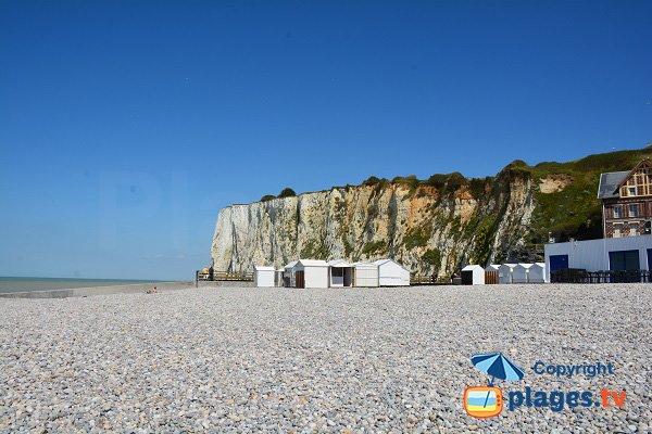 Cliffs in Mers les Bains