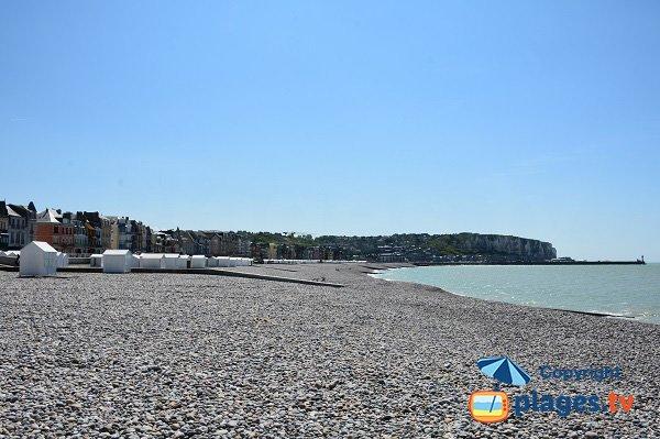 Photo de la plage de Mers les Bains - Picardie