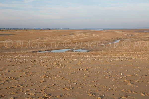 Beach of Redonne in Merville-Franceville - Normandy