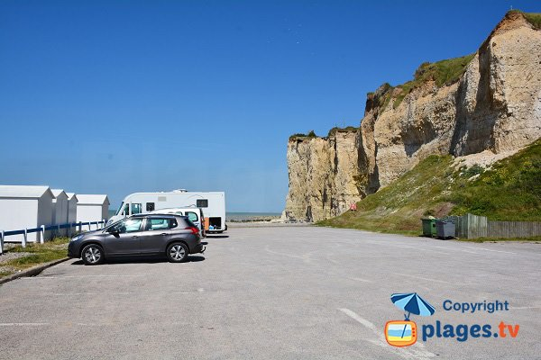 Parking of Mesnil Val - Criel sur Mer