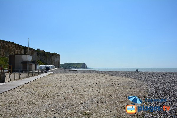 Photo of Mesnil Val beach in Criel sur Mer in France