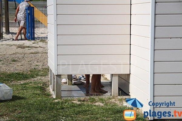 WC de la plage de Mesperleuc à Plouhinec