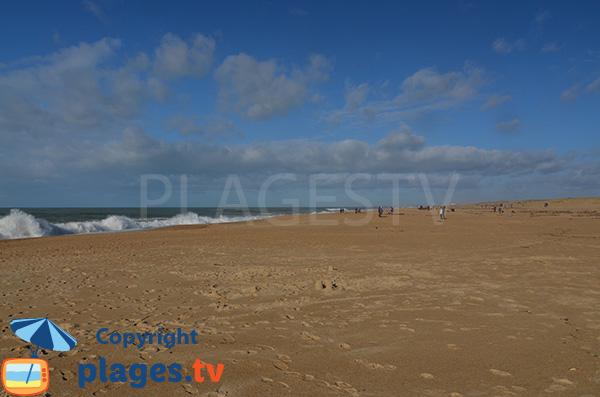 Photo de la plage du Métro à Tarnos
