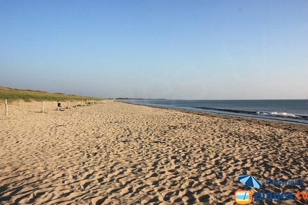 Spiaggia di Midi a Noirmoutier