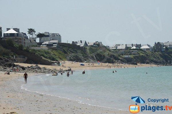 Minihic beach in Saint Malo