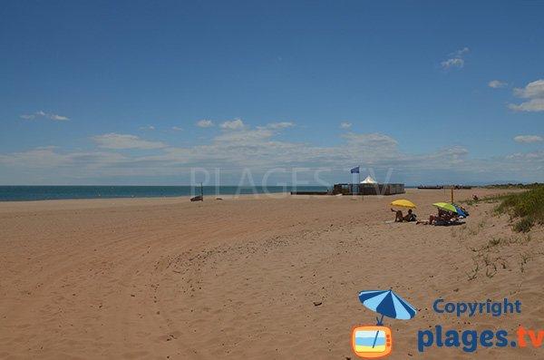 Photo de la plage des Mimosas de Vendres - 34