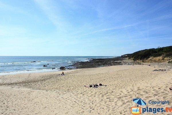 West part of Mine beach - Jard sur Mer