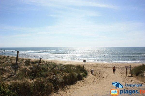 Access to Mine beach - Jard sur mer