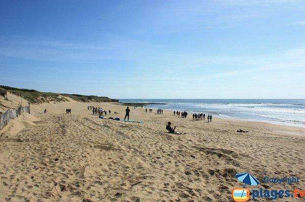 Photo of Mine beach in Jard sur Mer in France