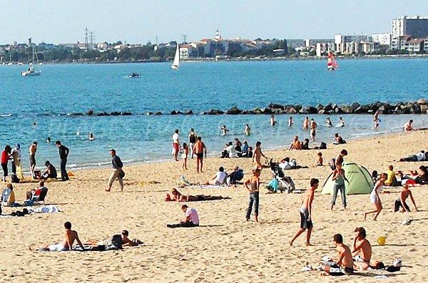 Beach of Minimes in La Rochelle