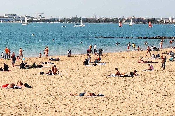 Photo of Minimes beach in La Rochelle