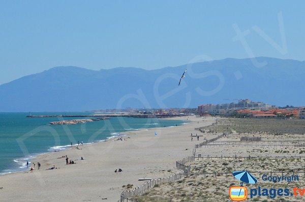 Photo of Miramars beach in Barcarès - France