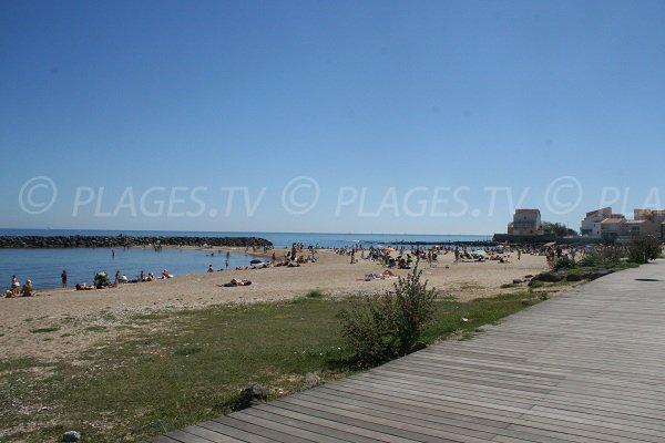 Spiaggia custodita di Mole a Cap d'Agde