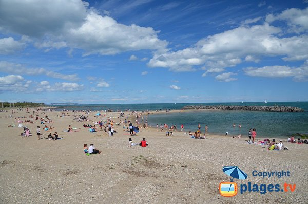 Photo of the Mole beach in Cape d'Agde
