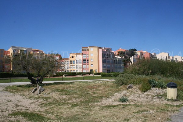 Accommodation in the beach of the Mole in Cape d'Agde