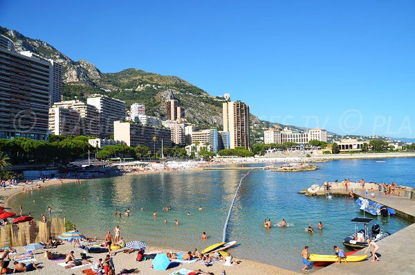 Photo of Larvotto beach in Monaco - France