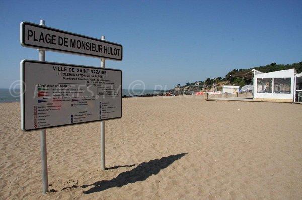 Plage de Mr Hulot à St Marc sur Mer - St Nazaire