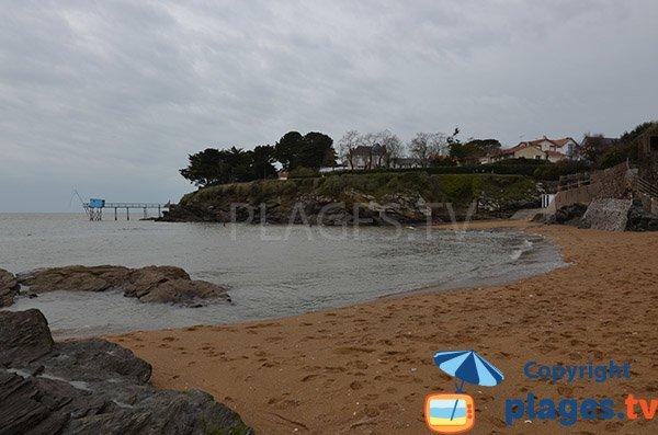 Carrelet à proximité de la plage de Montbeau - Pornic