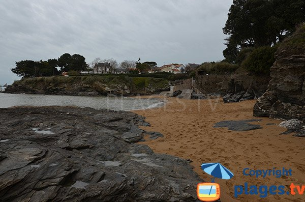 Photo de la plage de Montbeau à Ste Marie sur Mer - pornic