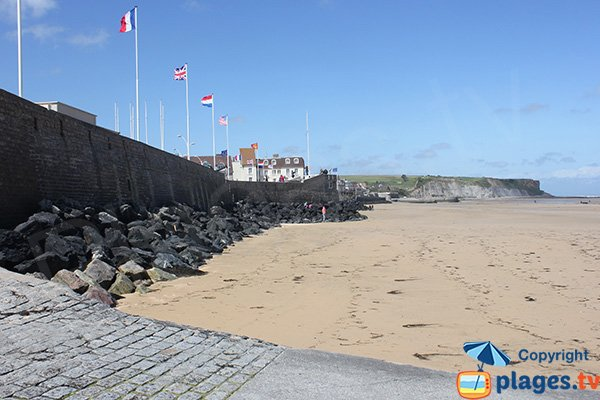 Photo of Montgomery beach in Arromanches les Bains