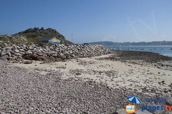 Montiers beach, Port area - Erquy