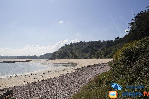 Montiers beach in Erquy in France