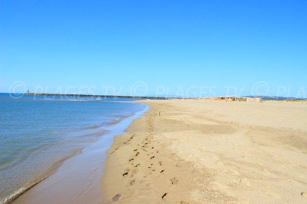 Foto della spiagga Les Montilles a Vendres