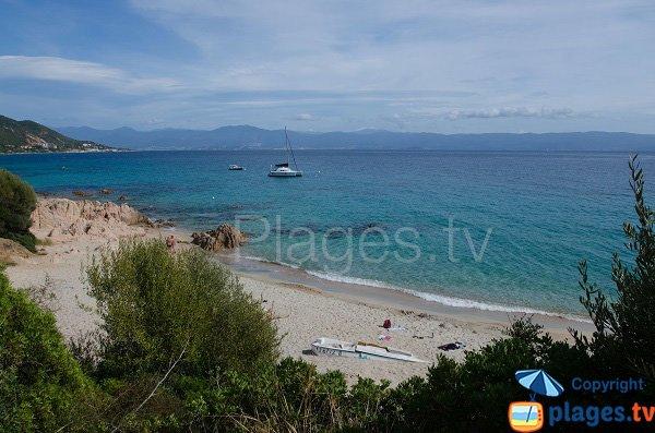 Photo de la plage de Moorea à Ajaccio
