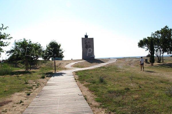 Memorial Pasquale Paoli in Moriani-Plage - Corsica