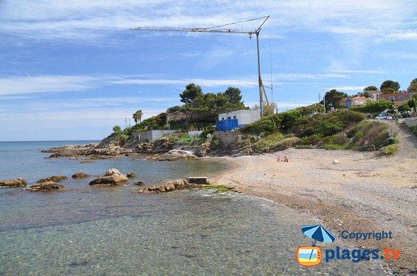 Küste um den Strand von Les Mouettes - Saint-Aygulf