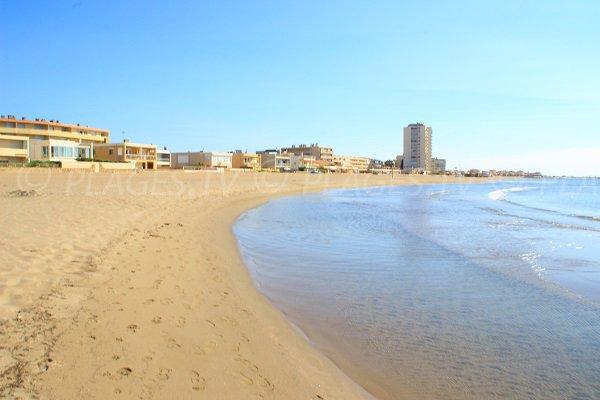 Foto della spiaggia dei Gabbiani - Valras