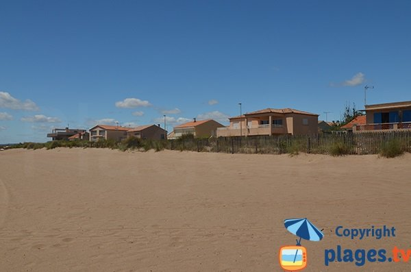 Padiglioni sulla spiaggia di Valras