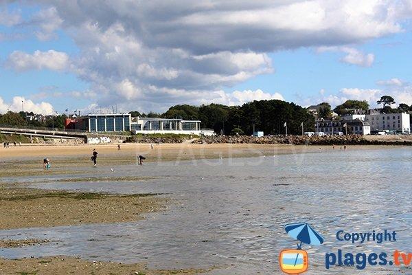 Plage de Relecq-Kerhuon partagée avec Brest