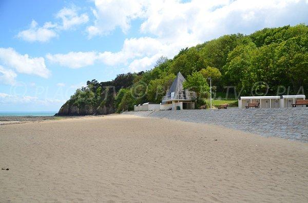 Environnement de la plage du Moulin à Etables sur Mer