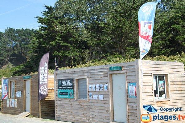 Ecole de surf à Locquirec