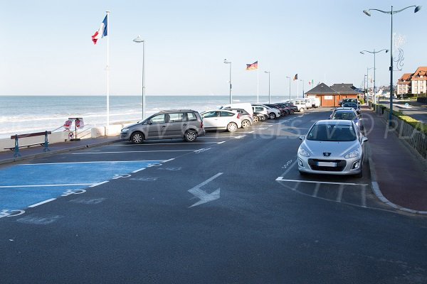 Parking of Jean Moulin beach - Villers sur Mer