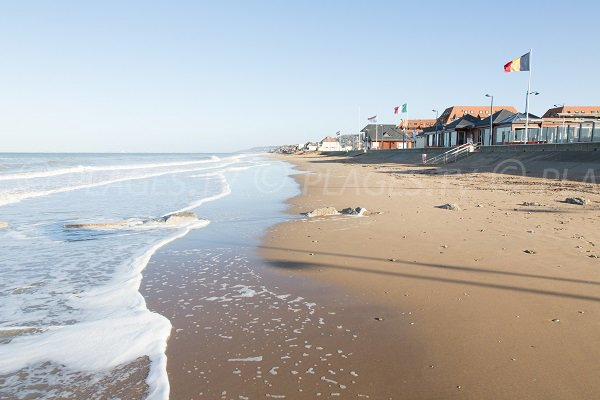Photo of Jean Moulin beach in Villers sur Mer (Normandy)