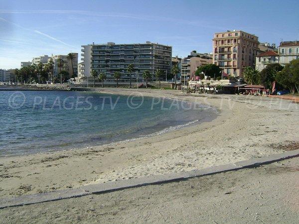 Mourillon beach Toulon - Lido area