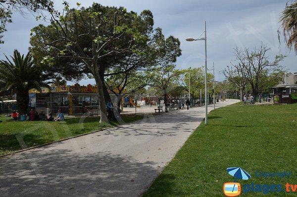 Parc du Mourillon de Toulon